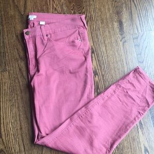NWOT J Crew Red Jeans